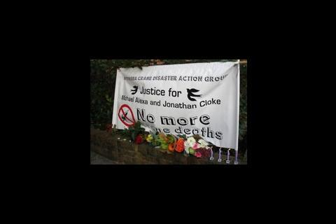 Battersea crane deaths